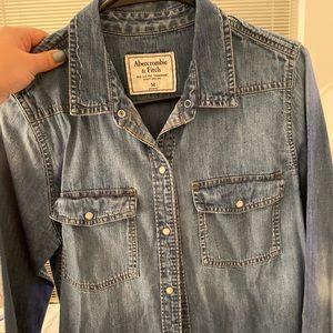 Abercrombie Jean Shirt